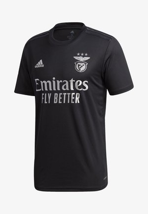 BENFICA LISBOA AWAY AEROREADY JERSEY - Club wear - black / silver metallic