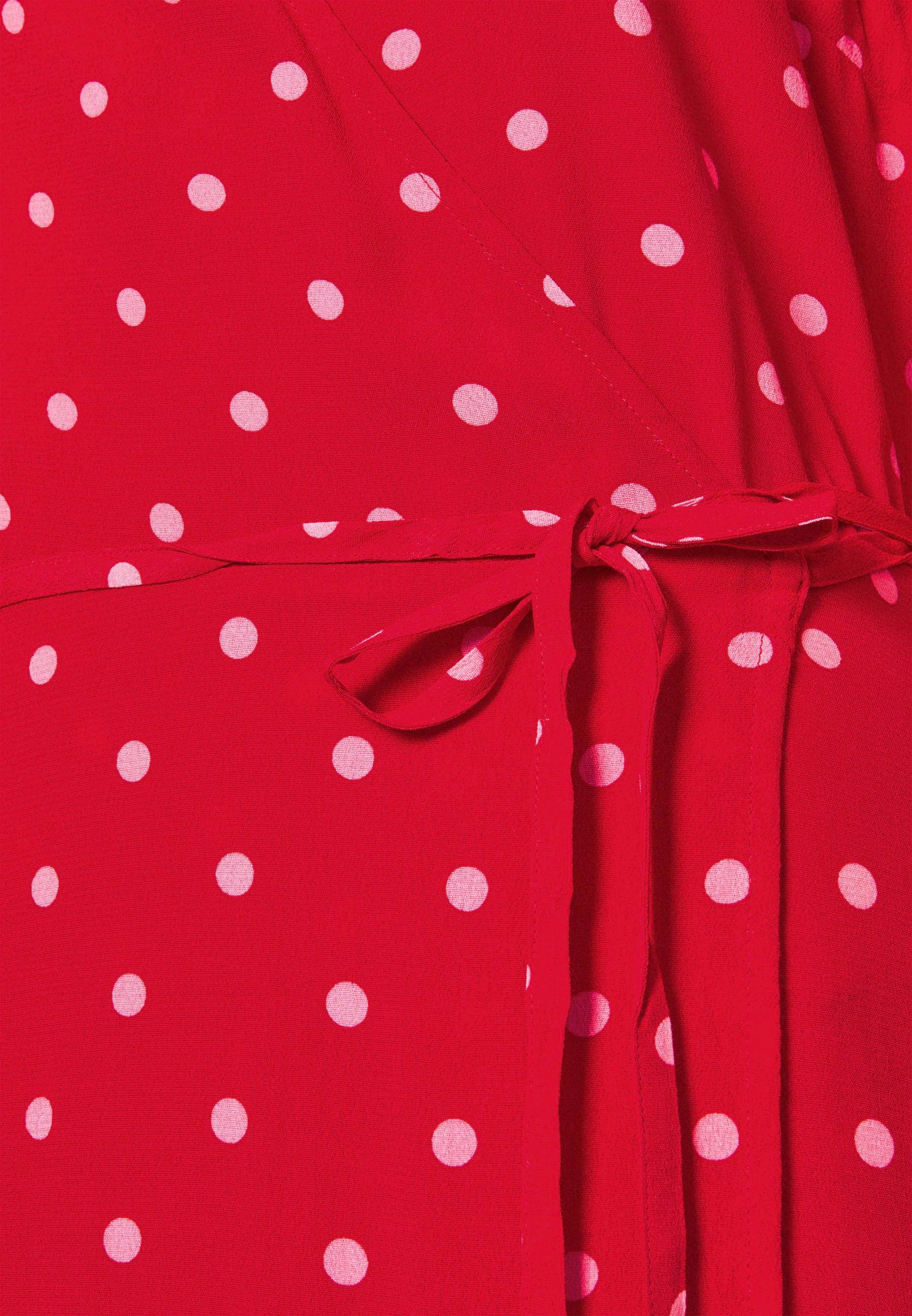 Women WRAP DRESS - Day dress - red