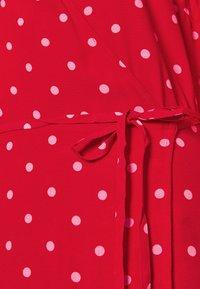 Gap Tall - WRAP DRESS - Korte jurk - red - 5