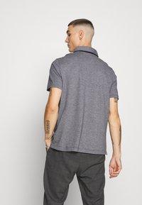 Calvin Klein - LIQUID HEATHER - Polo shirt - black - 2