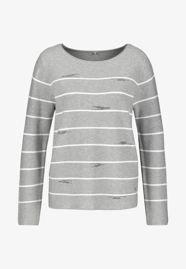 1/1 ARM - Pullover - grey/ecru/white