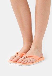 Esprit - EBBA - T-bar sandals - orange - 0