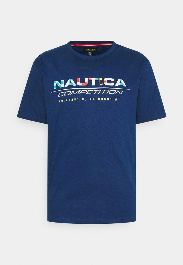 BOLLARD - T-shirts print - navy