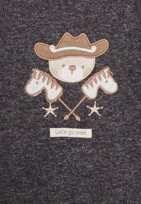 Jacky Baby - WILD WILD WEST SET - Dupačky na spaní - dunkelblau melange/braun melange - 2