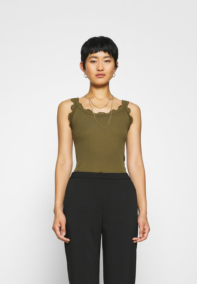 REGULAR VINTAGE - Top - military olive