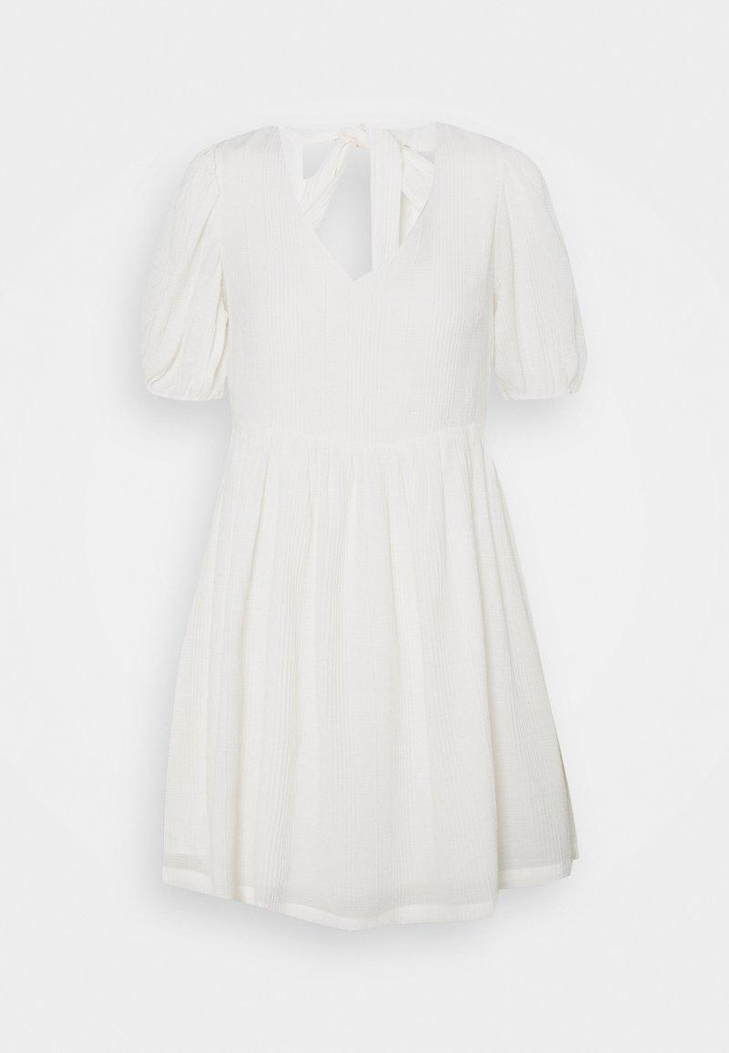 Object Petite - OBJYASMINA DRESS - Day dress - cloud dancer