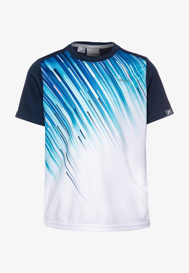 SLIDER - Koszulka sportowa - darkblue/royal