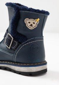 Steiff Shoes - TYLERR - Nilkkurit - blue - 5