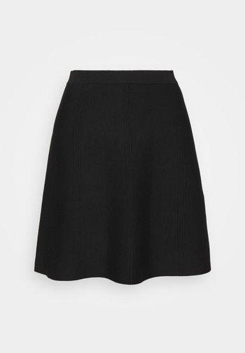 FANCY SKIRT - A-line skirt - black