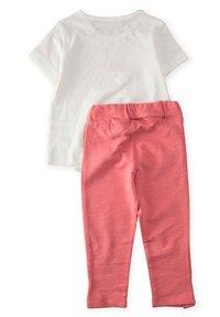 Cigit - SET - Teplákové kalhoty - off-white - 1