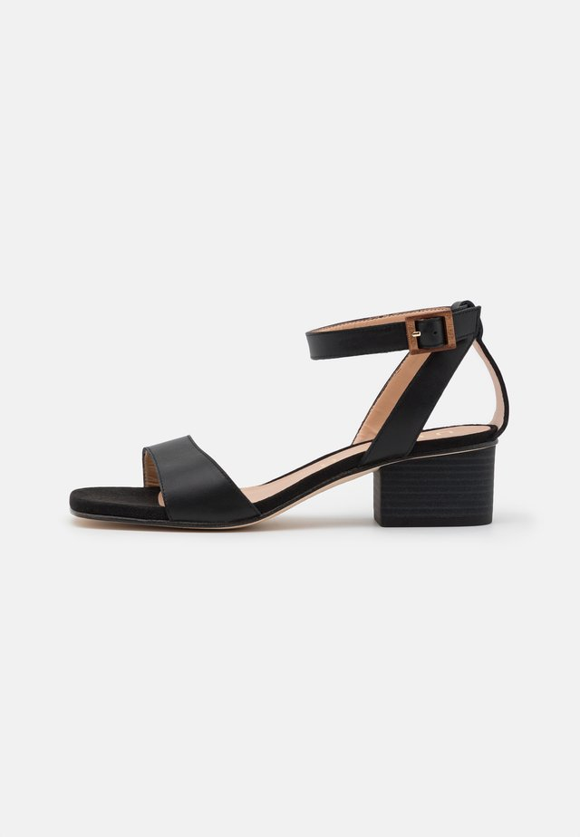 KRUCES - Sandales - black