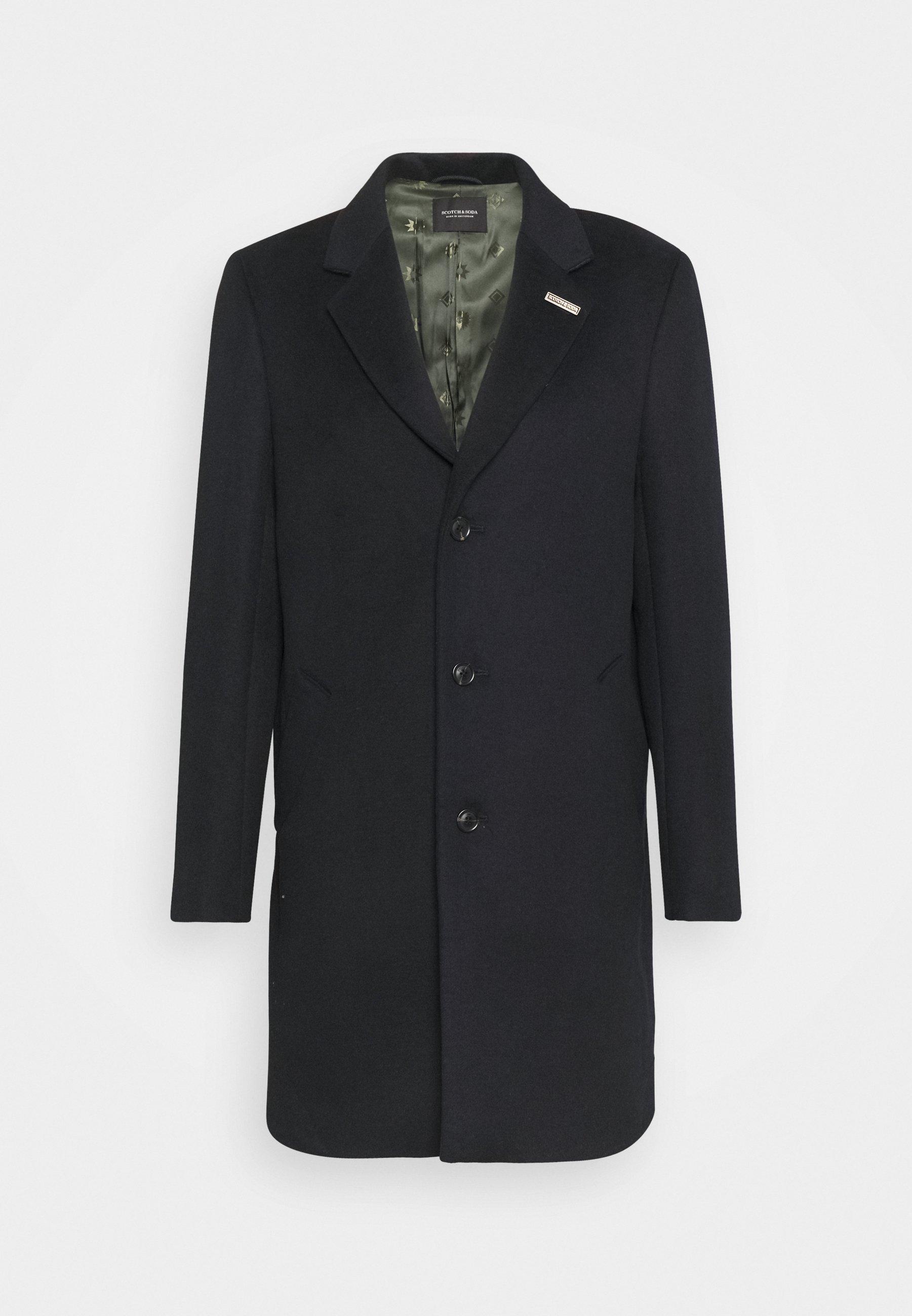 Men SINGLE BLEND OVERCOAT - Classic coat
