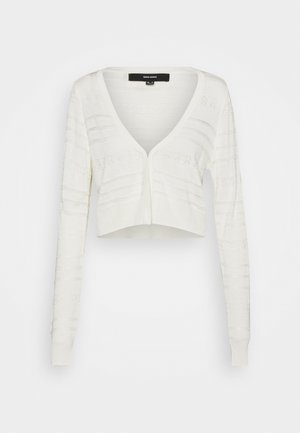 VMBALONA V NECK BOLERO  - Cardigan - birch