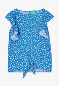 Benetton - SLEEVELESS - Blusa - blue - 3