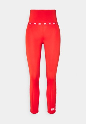 MINI LOGO - Leggings - red