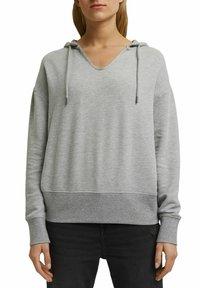 edc by Esprit - RELAXED - Hoodie - medium grey - 3