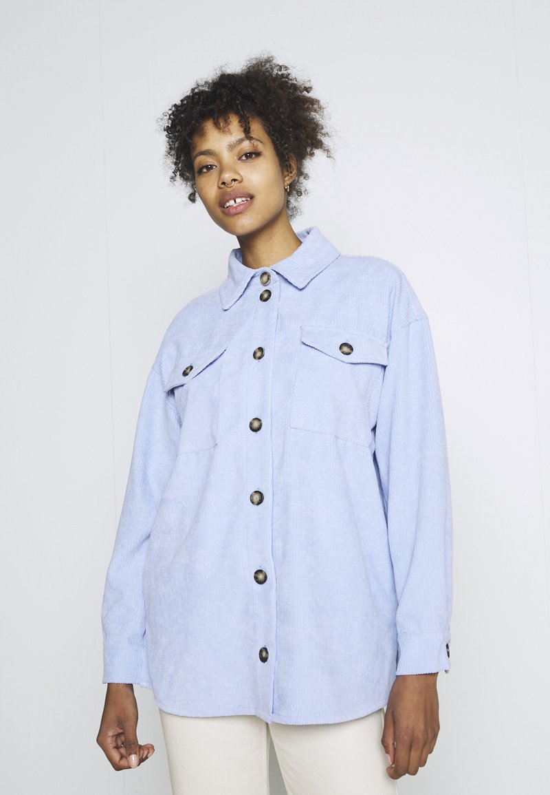 Moves - SAVISA - Button-down blouse - light blue