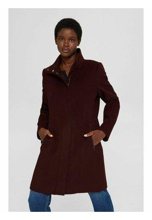 Classic coat - bordeaux red