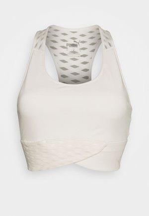MID IMPACT FLAWLESS BRA - Medium support sports bra - eggnog