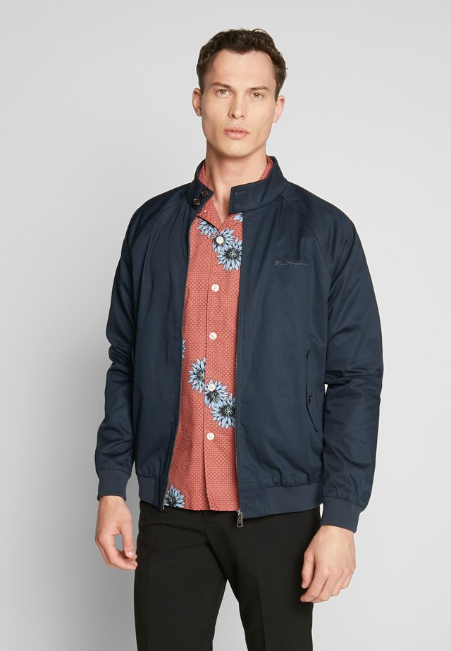 SIGNATURE HARRINGTON - Summer jacket - dark navy