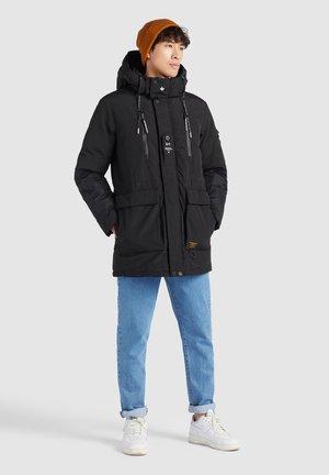 CHAOS - Winter coat - schwarz