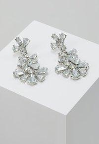 Pieces - Náušnice - silver-coloured/clear - 0