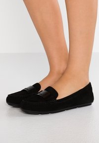Calvin Klein - LASSEY - Mocassins - black - 0