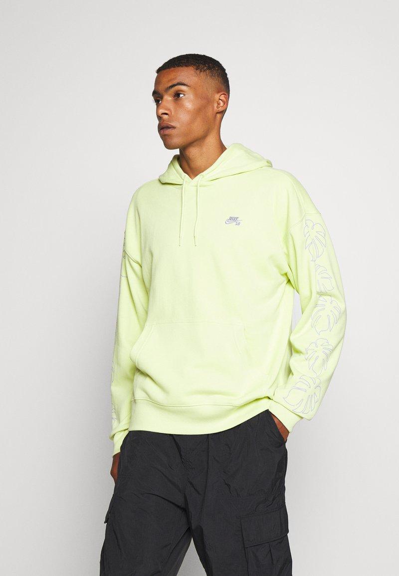 Nike SB - PARADISE  - Hoodie - limelight