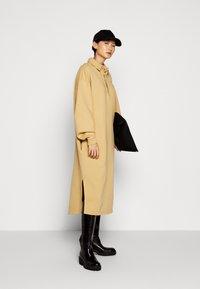 Holzweiler - BISLETT DRESS VINTAGE - Day dress - washed beige - 1