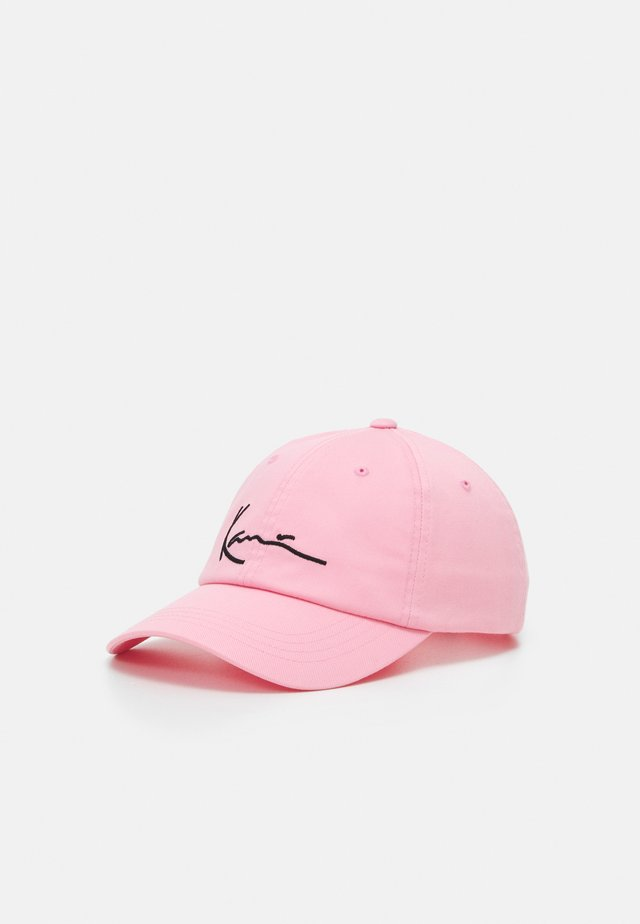 SIGNATURE CAP UNISEX - Lippalakki - light pink