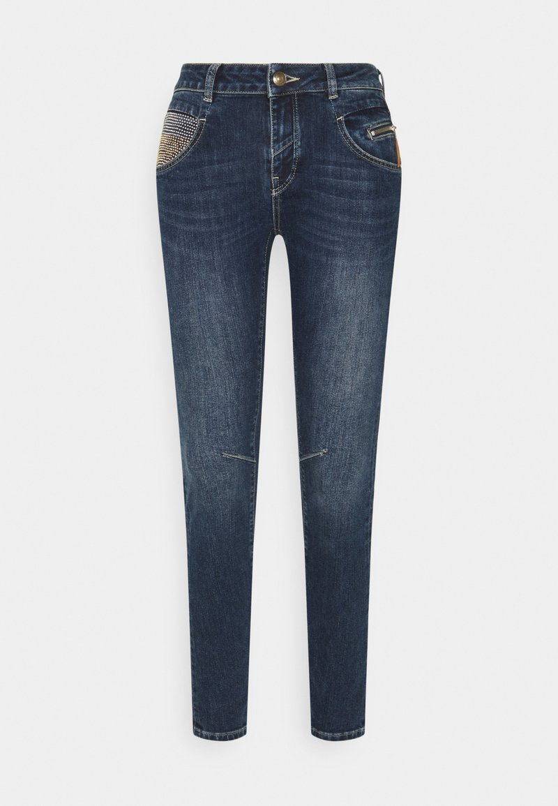 Mos Mosh - NELLY RELOVED  - Straight leg jeans - blue