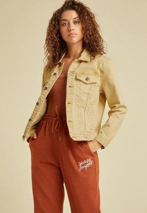 Kurtka jeansowa - beige