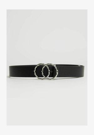 MIT DOPPELTER RINGSCHNALLE  - Belt - black