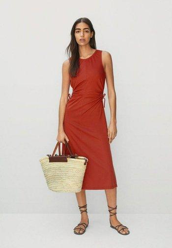 GABI - Day dress - rouge orangé