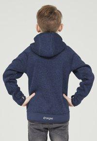 ZIGZAG - Zip-up hoodie - 2048 navy blazer - 2