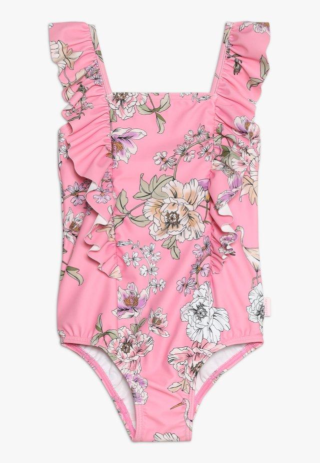 FRILL TANK - Swimsuit - light pink