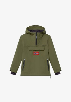 KIRKENES - Ski jacket - khaki green/anthracite