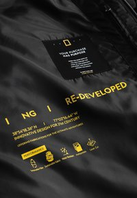 National Geographic - RE-DEVELOP - Winter jacket - black - 7