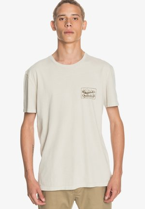 OLD HABIT  - Print T-shirt - parchment