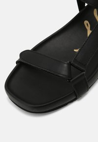 Tommy Hilfiger - INTERLOCK FLAT - Sandals - black - 7
