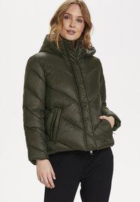 Saint Tropez - CATJASZ - Winter jacket - army green - 0