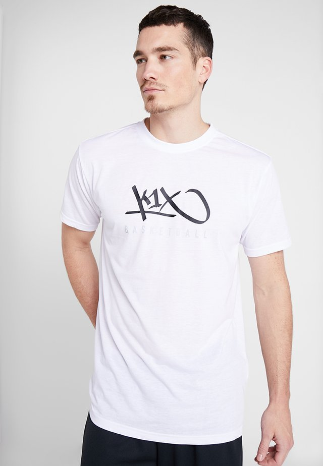 HARDWOOD - Print T-shirt - white
