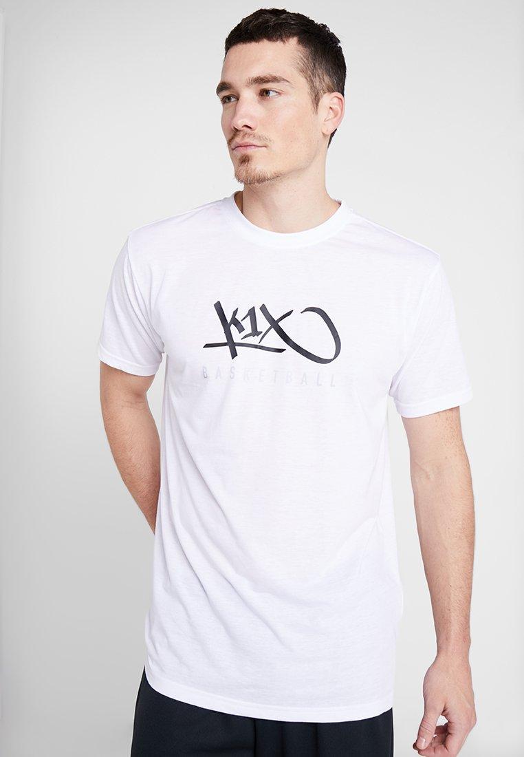 K1X - HARDWOOD - Print T-shirt - white