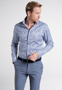 Eterna - SLIM FIT - Shirt - light blue - 0