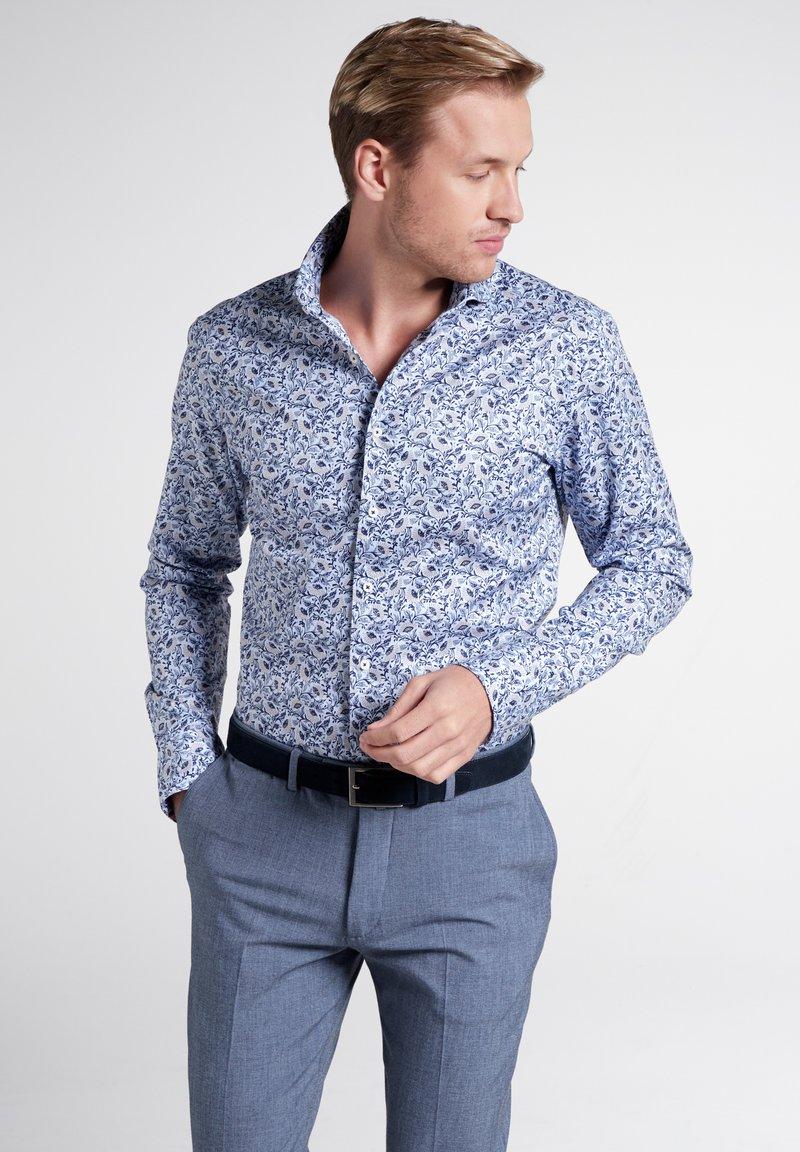 Eterna - SLIM FIT - Shirt - light blue