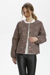 Kaffe - Light jacket - multi pink flower - 0