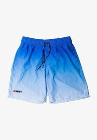 BWET Swimwear - QUICK DRY PERFECT FIT MAROON BEACH - Sports shorts - blue - 5