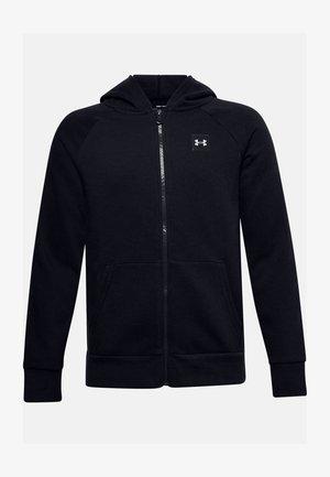 UA RIVAL - Zip-up hoodie - black