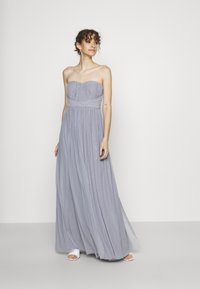Nly by Nelly - CONVERTIBLE GOWN - Robe de cocktail - dusty blue - 0