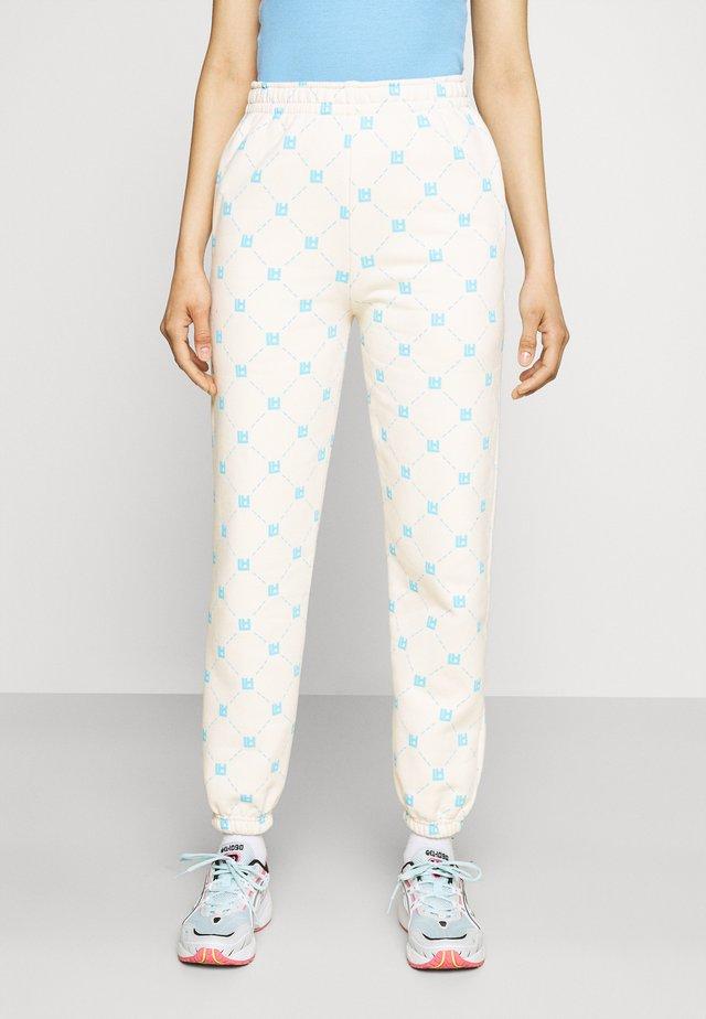 MONOGRAM - Pantaloni sportivi - blue/beige